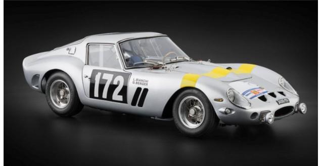 Ferrari 250 GTO Tour de France 1964 #172 Silver 1:18 CMC M157