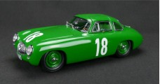 Mercedes-Benz 300SL #18 GP Von Berl 1952 Green 1:18 CMC M158
