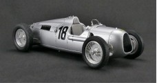 Auto Union Type C #18 Eifel Race 1936 Silver 1:18 CMC M161