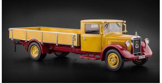 Cmc M 169 Mercedes Benz Lo 2750 Platform Truck Yellow 1933 1936 1 18