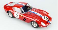 """Ferrari 250 GTO 24H France 1962 #19 Signature Edition """"Jean Guichet"""" 1:18 CMC M174"""