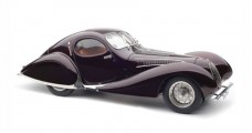 "CMC Talbot-Lago Coupé T150 C-SS Figoni & Falaschi ""Teardrop"" 1937-39 Memory Edition Metallic Aubergine 1:18 CMC M179"