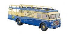 Maserati Racing Transporter fiat 642 RN2 Bartoletti, 1957 Blue 1:18 CMC M097