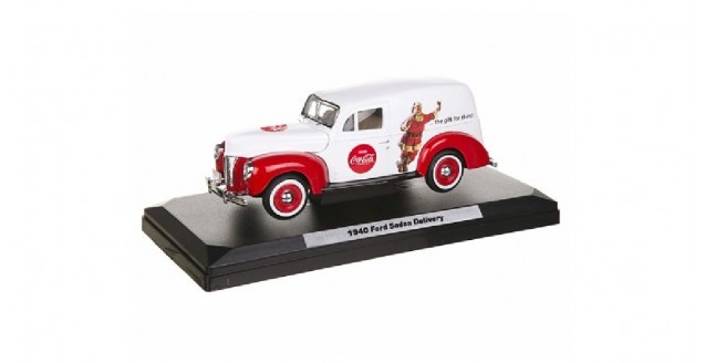Coca-Cola 1940 Holiday Ford Panel Van 1:24 Motorcity Classics
