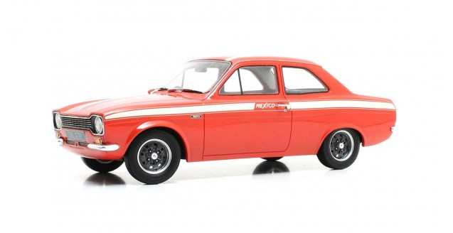 Ford Escort MkI 1973 Mexico Red 1:18 Cult Scale Models CML063-1