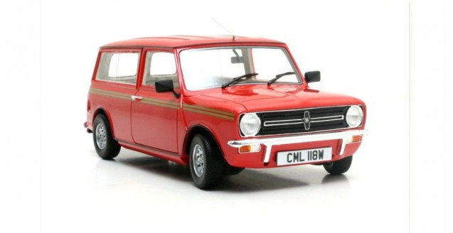 Mini Clubman Estate Red 1974 1:18 Cult Scale Models CML018-1