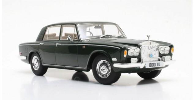 Rolls Royce Silver Shadow 1975 Dark Green Metallic 1:18 Cult Scale Models CML036-1