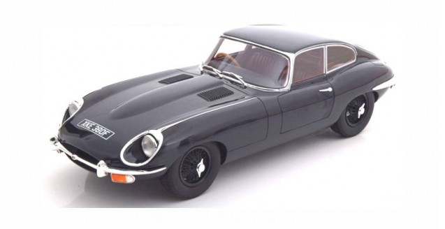 Jaguar E-Type Coupe Series II 1968 dark blue 1:18 Cult Scale Models CML046-1