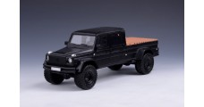 Mercedes-Benz GWF G500 pickup Matt Black 1:43 GLM Models GLM205801