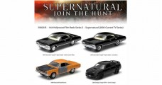 Supernatural Four Car Film Reel 1:64 GREENLIGHT 59020B