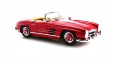 Mercedes-Benz 300 SL Roadster W198 II Year 1957-63 Strawberry Red 1:12 GT Spirit B66040627