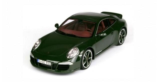PORSCHE 911 Carrera S 991 Club Coupe Brewster Green 1:18 GT Spirit GT007CS