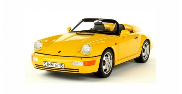 Porsche 911 (964) Speedster Yellow 1:18 GT Spirit  GT008CS