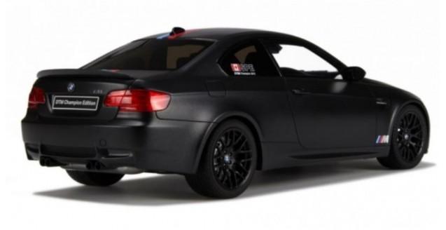 GT Spirit GT029 BMW M3 E92 Champion Edition 2012 Black 1:18