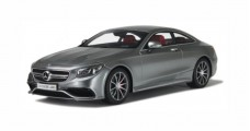 Mercedes AMG S63 Coupe Silver Grey 1:18 GT Spirit GT063