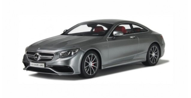 Mercedes Amg S63 Coupe Silver Grey 1 18 Gt Spirit Gt063