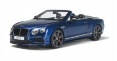 Bentley Continental GT V8 S Cabriolet Blue 1:18 GT Spirit  GT076