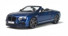 Bentley Continental GT V8 S Cabriolet Blue 1:18 GT Spirit  GT076