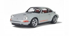Porsche 911 BY Singer Grey 1:18 GT Spirit GT088