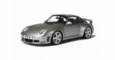 Porsche RUF CTR 2 Metalic Silver 1:18 GT Spirit GT080