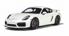 Porsche Cayman GT4 White 2015 1:18 GT Spirit GT111