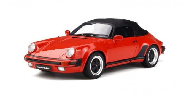 Porsche 911 3.2 Speedster Closed Hood Red 1:18 GT Spirit GT130