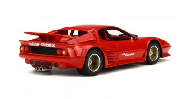1:18 GT Spirit FERRARI 512 BBI Turbo Koenig Specials 1983 Red