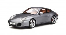 Porsche 911 (996) Carrera 4S Metalic Silver 1:18 GT Spirit GT182