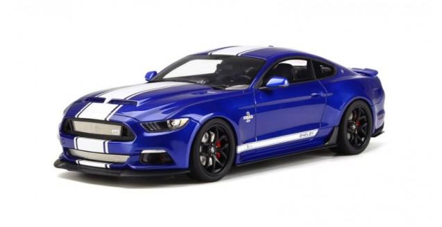Shelby Mustang Super Snake 2017 Impact Blue 1:18 GT Spirit GT204