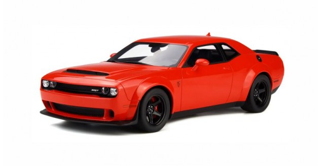 Dodge Challenger Demon 2018 Red 1:18 GT Spirit GT213