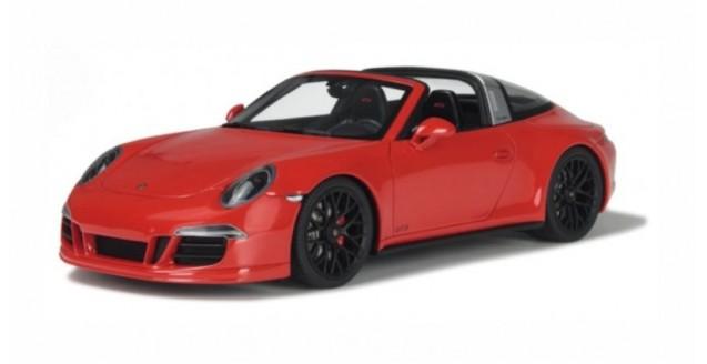 Porsche 911 (991) Targa GTS Red 1:18 GT Spirit GT718