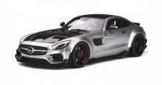 Mercedes AMG GT Modified By Prior Design Silver 1:18 GT Spirit  GT723