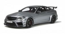 Mercedes-AMG C 63 Black Series Silver 1:18 GT Spirit GT731