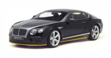 Bentley Continental GT Speed Breitling Jet Team Series Black/Silver 1:18 GT Spirit GT734