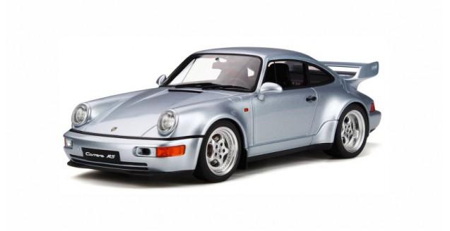 Porsche 911 (964) Carrera RS 3.8 Polar Silver 1:18 GT Spirit GT735