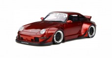 Porsche 993 RWB Ducktail Candy Red 1:18 GT Spirit GT759