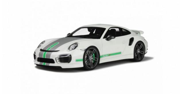 PORSCHE 911 TECHART 991 TURBO S White 2015 1:18 GT Spirit GT801