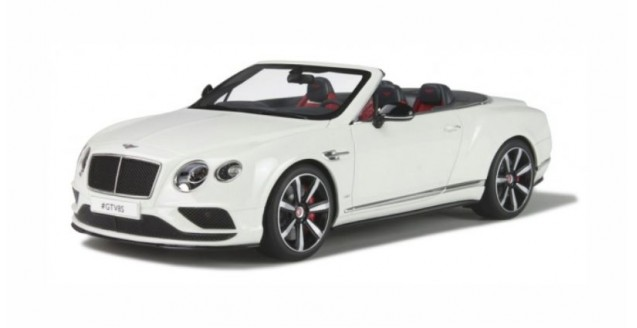 Bentley Continental GT V8 S Cabriolet White 1:18 GT Spirit ZM046