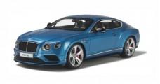 Bentley Continental GT V8 S Blue 1:18 GT Spirit ZM047