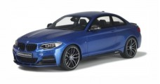 BMW M235i M Performance Blue 1:18 GT Spirit ZM058