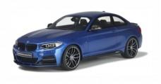 BMW M235i M Performance Blue 1:18 GT Spirit ZM058