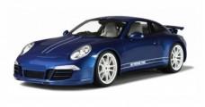 Porsche 911 (991) Carrera 4S 5M Blue 1:18 GT Spirit GT032