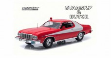 Ford Gran Torino Starsky and Hutch 1975-79 Red White 1:18 Greenlight 19017