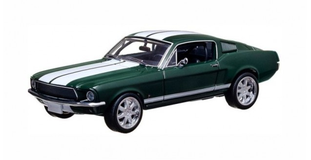 Ford Mustang Fast & Furios 1967 Green 1:43 Greenlight 86211