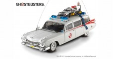 ECTO-1 GHOSTBUSTERS White 1:18 Hot Wheels BCJ75