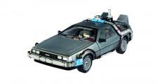 Delorean DMC12 Movie Back to the Future III 1990 with Mr Fusion Silver 1:18 Hot Wheels CMC98