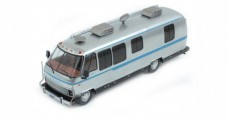 Airstream Excella 280 turbo 1981 silver / Light Blue 1:43 IXO CAC003