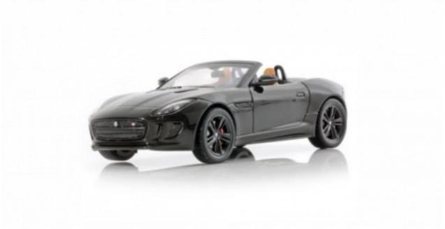 Jaguar F-Type V8 S Convertible Black 1:43 PremuimX PRD301