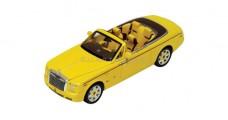 Rolls Royce Phantom Drophead Coupe Bijan Pakzad Yellow 1:43 IXO MOC164