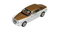 Rolls Royce Phantom Middle East Special White/Gold 1:43 IXO MOC162